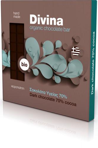 Био тъмен шоколад 70% 1