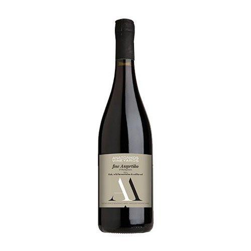 Био вино Бяло Сухо, AΜ, Fine Assyrtiko & Malagousia 1