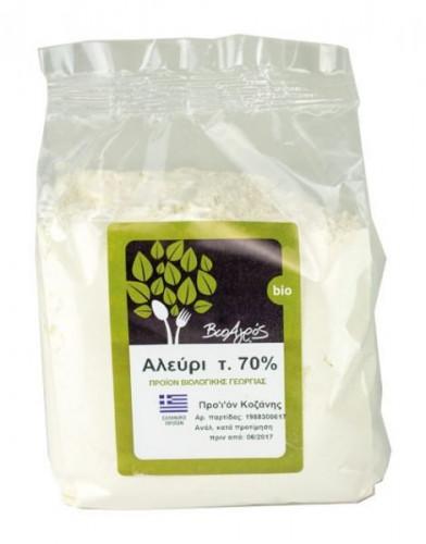 Био бяло брашно 70% мека пшеница, 1 кг. 1