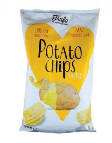 Био Картофен чипс с ниско съдържание на сол, без глутен 1
