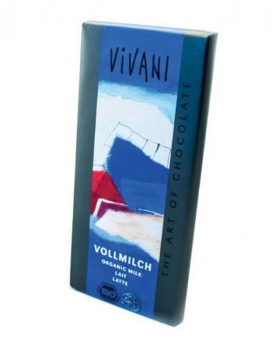 Био Млечен шоколад Vivani 1