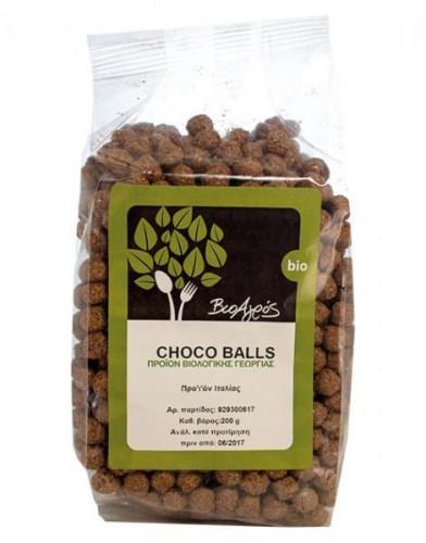 Био шоколадови топчета 1