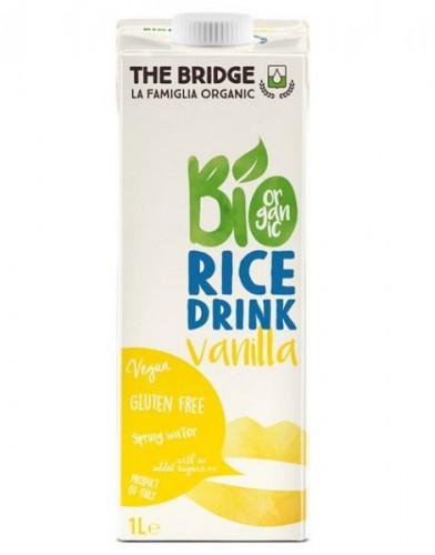 Био оризово - ванилова напитка, Веган, Без глутен 1
