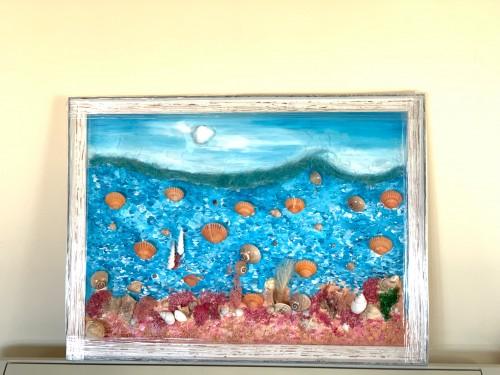 Картина Морски свят 75х55 см. 1