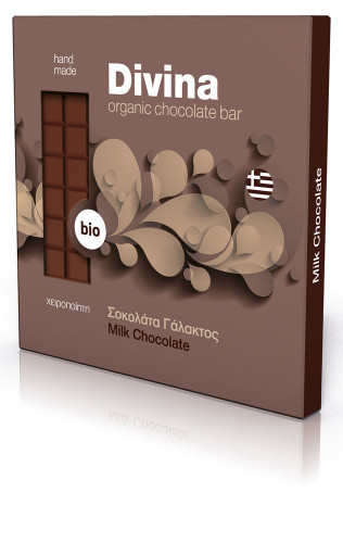 Био млечен шоколад 1