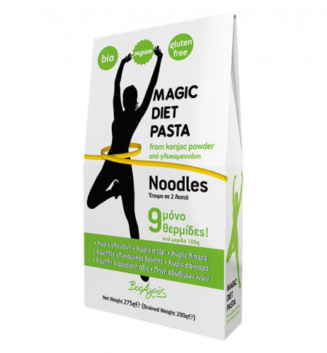Био MAGIC DIET PASTA, Noodles, 275 гр. 1