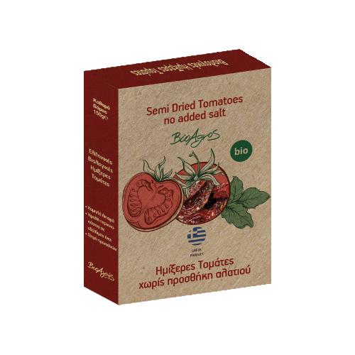 Био полу-изсушени домати, без добавена сол 1