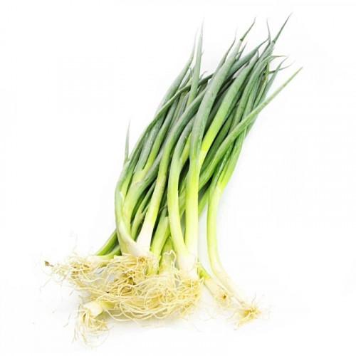Био зелен пресен кромид лук (връзка) 1