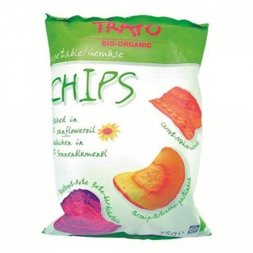 Био Зеленчуков чипс, без глутен 1