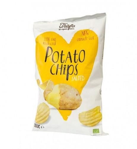 Био солен картофен чипс 1