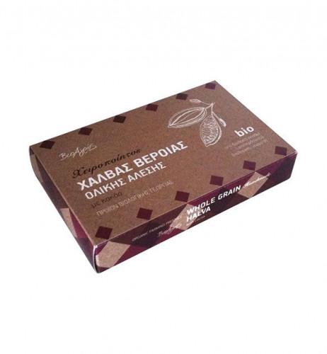 Био пълнозърнеста гръцка халва с какао 1