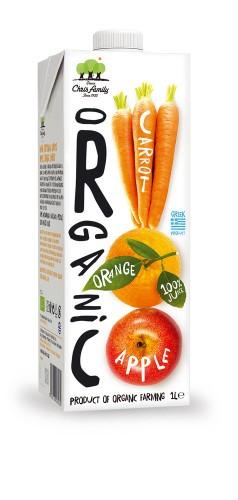Био сок от Ябълка, Портокал и Морков 1