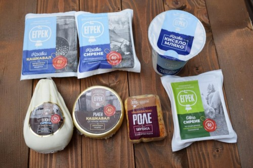 Селско краве сирене от ферма Егрек, ~550гр. 2