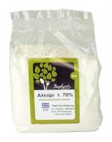 Био бяло брашно 70% мека пшеница, 1 кг.