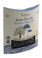 Био маслини сорт Трумба, черни, вакуум