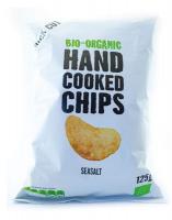 Био чипс със сол, ръчно произведен