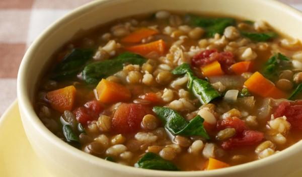 Супа с леща 1