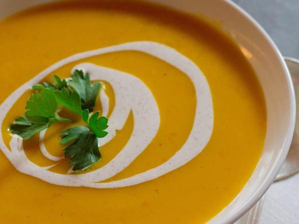 Зеленчукова крем супа 1