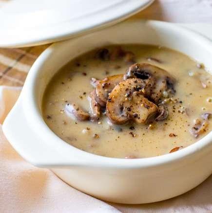 Гъбена крем Супа 1